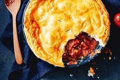 Make the most of winter weeknights with this hearty make-ahead beef and beetroot pie.