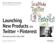 Launching New Products via Social Media Mark Johnson, Faia, New Media, Case Study, Infographics, Social Media Marketing, Engineering, Presentation, Designers