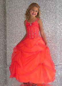 Tiffany Designs Girls Pageant Dress 3408