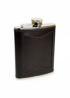 BC you never know... Filson Bridle Leather Flask