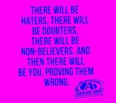 Can't wait to start using this and prove them all wrong! Advocare Distributor, Independent Distributor, Advocare 24 Day Challenge, Advocare Recipes, Advocare Products, Healthier You, How To Increase Energy, Way Of Life, Helping Others
