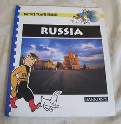 Tintin's Travel Diaries Russia BARRON'S Young Readers Geography