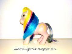 Ringlets G1 (Brush 'n Grow Ponies) My Little Pony Vintage