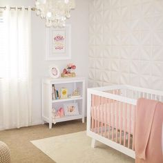 @babyletto on Instagram: 3D wall goals  this mama's DIY slat painting is on point • #babyletto Hudson crib • : designed by @lovely_katja