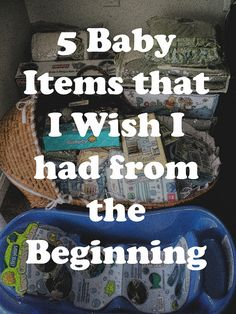 5 Baby Items that I Wish I Had from the Beginning