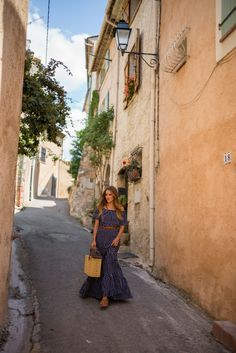 Summer Maxi Dress In France
