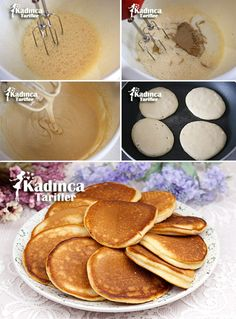 Tahini Spoon Spill Recipe, How To - Best Fashion Week Tahini, Waffles, Pancakes, Food Categories, Turkish Recipes, Homemade Beauty Products, Cake Cookies, Tea Time, Food And Drink