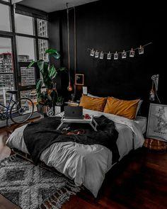 home aesthetic Bedroom Goals Abh - home Dream Rooms, Dream Bedroom, Room Decor Bedroom, Bedroom Ideas, Bed Room, Bedroom Designs, Bedroom Small, Dorm Room, Dark Cozy Bedroom