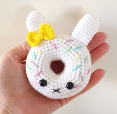 Bunny Donuts amigurumi pattern by Super Cute Design