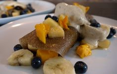 #Recipe - Raw Vegan Banana Crepes ... One of the things that are really hard to make on a raw vegan diet are brunch type recipes.