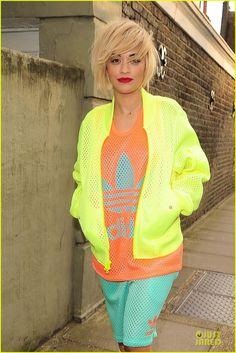 Absolutely ADORE Rita Ora's hair