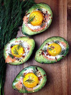 StuffedAvocado Recipes: Avocado Salad, Avocado Breakfast, Avocado and Egg : People.com