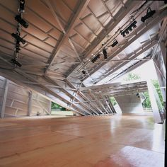 Risultati immagini per daniel libeskind serpentine pavilion Kensington Gardens London, Lecture Theatre, Structure And Function, Daniel Libeskind, Toyo Ito, Oscar Niemeyer, Zaha Hadid, Pavilion, Stairs