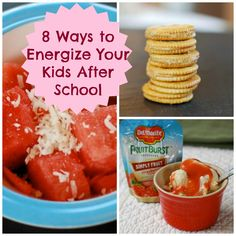 8 Energizing After-School Snacks Your Kids Will Love