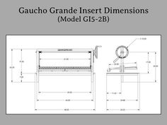 Gaucho Grande Insert — Gaucho Grills Clean Grill, How To Grill Steak, Outdoor Grill Station, Grill Plate, Stainless Steel Grill, Drip Tray, Side Wall, Fireplace Wall, Gaucho