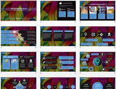 Colorful Abstract PowerPoint by SageFox