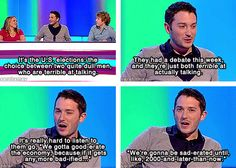 Jon Richardson // 8 out of 10 cats. I'm so obsessed. British Humour, British Memes, British Comedy, Uk Comedians, Jon Richardson, 8 Out Of 10 Cats, Michael Mcintyre, Jimmy Carr, Comedian Quotes