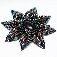 My brooch :)  Project tutorial: beading.pl