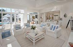 tendance d co escale plong e dans les hamptons maisons. Black Bedroom Furniture Sets. Home Design Ideas