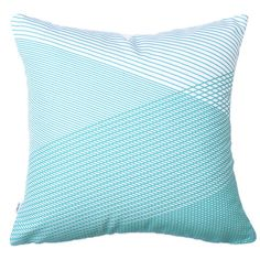 Moncur Mint (One available) Striped Cushions, Shades Of Blue, Mint, Indoor, Throw Pillows, Interior, Toss Pillows, Decorative Pillows, Decor Pillows
