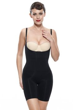 92b4f05469 Franato Womens Firm Control Slimming Bodysuit Shapewear Large Black      Check this awesome product by going to the link at the image.