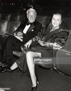 Joan Fontaine during 50th Academy Awards at Dorothy Chandler Pavillion in Los Angeles California on April 3, 1978.