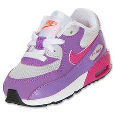 b857ff8074fe7 Girls  Toddler Nike Air Max 90 Running Shoes