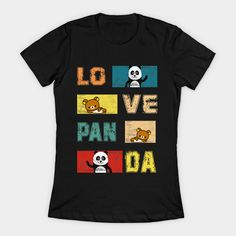 panda lover gift best costume panda vintage - Panda Pajamas - T-Shirt Cool Costumes, Gift For Lover, Custom Shirts, Craftsman, Pajamas, Community, Unisex, Group, Clothes For Women