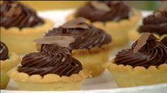 Tortinhas de Chocolate Trufado