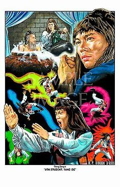 Five Deadly Venoms - The Student Beastmaster Movie, Angel Movie, Venom Movie, Venom Art, Kung Fu Movies, Best Action Movies, Legion Of Superheroes, Martial Arts Movies, Art Prints