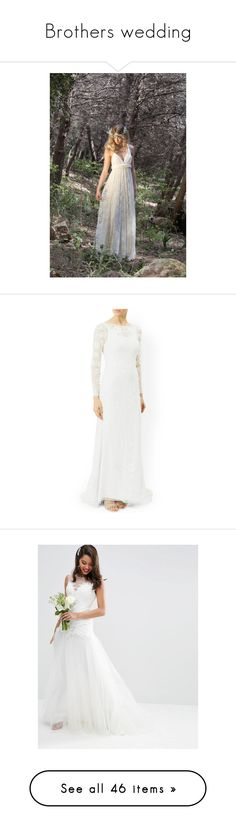 """""""Brothers wedding"""" by emi-zambrana ❤ liked on Polyvore featuring dresses, dark olive, skirts, women's clothing, lace bridesmaid dresses, lace cocktail dresses, convertible bridesmaid dress, boho dresses, long boho dresses and white slip"""