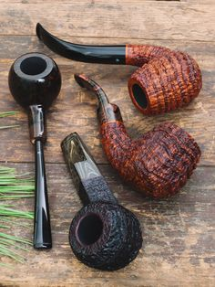 Enjoy your Labor Day break with Brad Pohlmann Werner Mummert Nate King and Michael Parks. On site now at Smokingpipes.com. Wooden Tobacco Pipes, Tobacco Pipe Smoking, Smoking Pipes, Bend Pipe, Briar Pipe, Pipes And Cigars, Up In Smoke, Smokers, Cuban Cigars