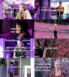 Knowing About Carol Peletier #TWD