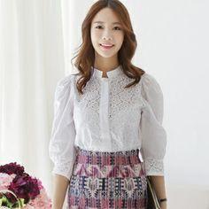 blouse, not skirt.