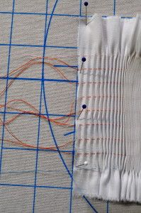 Picture Smocking Tutorial- part 1. This'll come in handy for my Flying Mint Bunny JSK.