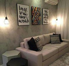 Resultado de imagem para parede e sofa cinza