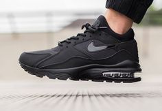 Nike Air Max 93 Triple Black post image