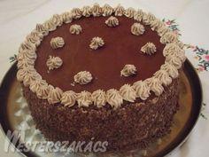 Hungarian Recipes, Hungarian Food, Diy Cake, Cakes And More, Amazing Cakes, Nutella, Tiramisu, Muffin, Birthday Cake