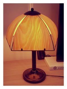 Wood-lamp