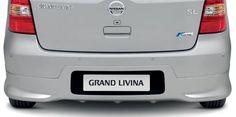 Nissan Grand Livina - Saia traseira