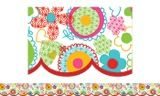 Checkout the Floral Fun Bulletin Board Border, Scalloped product
