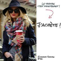 Nouvelle tendance le foulard et écharpe tartan beige écossais d Écosse à  carreaux. Pour c20d100f46d