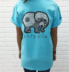 1fa16b9421e4d Summer new tshirt Ivory Ella printing Elephant Print Tops T-Shirt Pocket  Jumper Pullover Sweatshirt