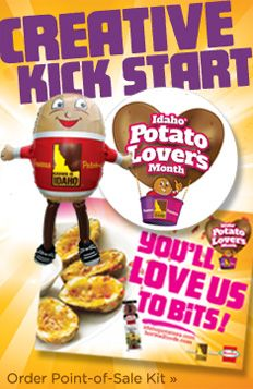 Points for the Idaho® Potato! Survey enlightens Americans on the Idaho® potato difference | Get Your Facts Right... On Potatoes!