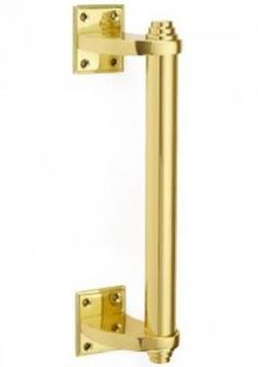 Retro rounded bar pull handle 292mm long, projection 71mm, width 43mm