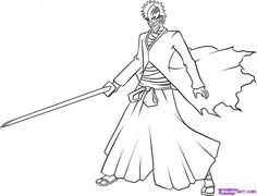 bleach coloring pages 33 Best bleach coloring pages images in 2019 | Desenhos, Páginas  bleach coloring pages