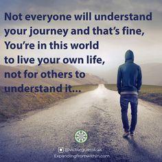 #yourownlife #spiritual #spiritualawakening #spiritualgrowth #personalgrowth #healing Spiritual Healer, Spiritual Growth, Spirituality, Psych, Understanding Yourself, Live For Yourself, The Expanse, In This World, Healing
