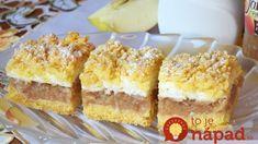 Jabĺčka v oblakoch: Keď neviem čo s jablkami, vždy robím tento koláč – je nesmierne dobrý a pritom jednoduchý!