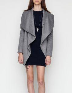 Shawl Collar Coat ++ Funktional