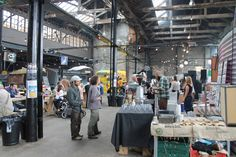 The Boiler Shop Steamer - Newcastle Street food event